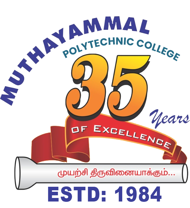 Muthayammal Polytechnic College 35 Years Old